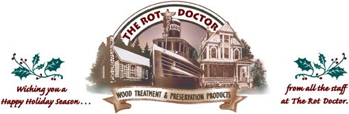 Rot Doctor Holiday Logo